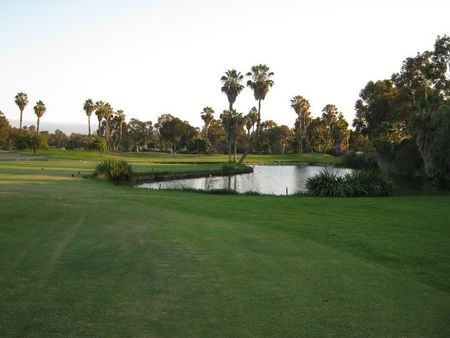 Overview of golf course named Rancho San Joaquin Golf Course