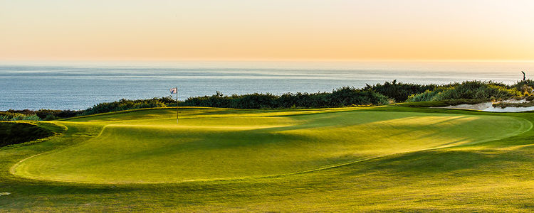 The links at terranea cover picture