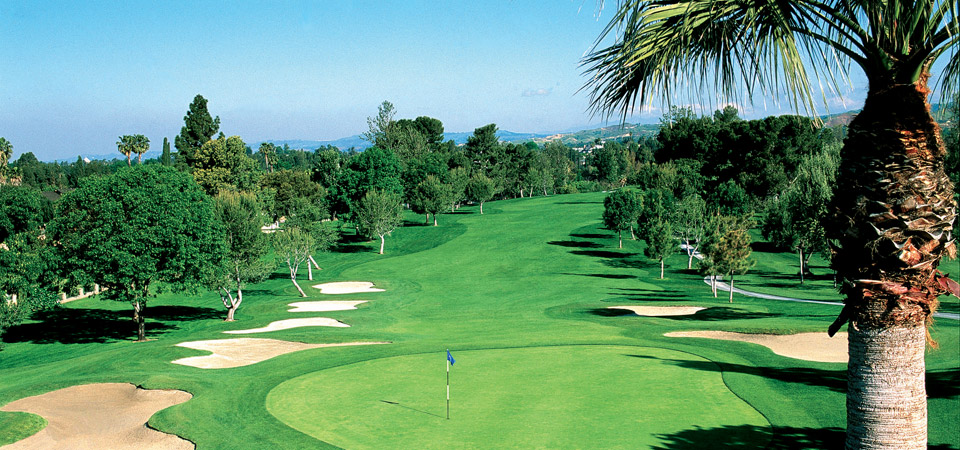 Overview of golf course named Yorba Linda Country Club