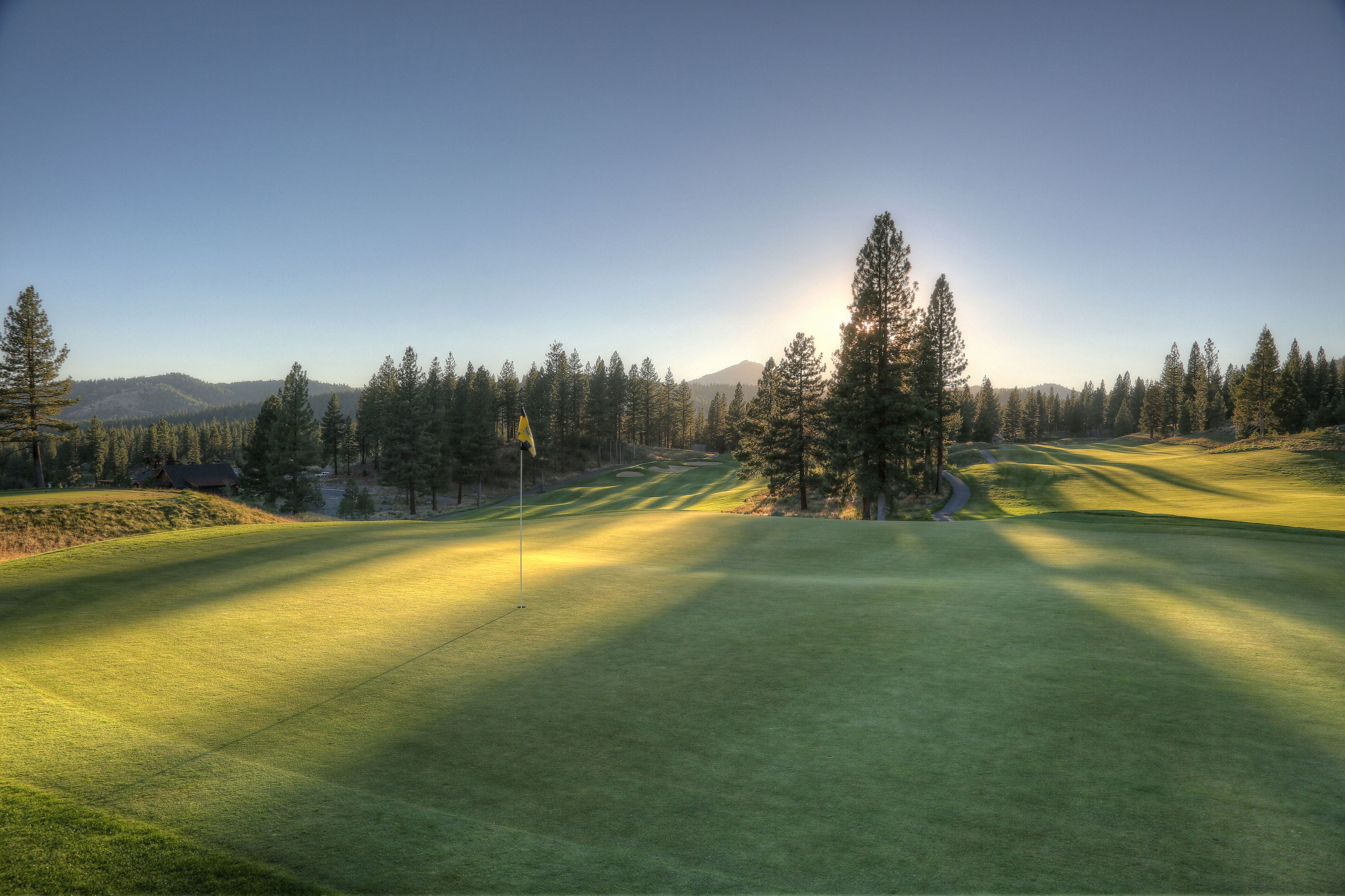 Overview of golf course named Grizzly Ranch Golf Club