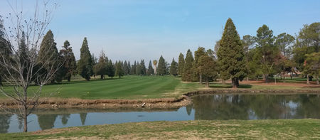 Overview of golf course named Rancho Del Rey Golf Club