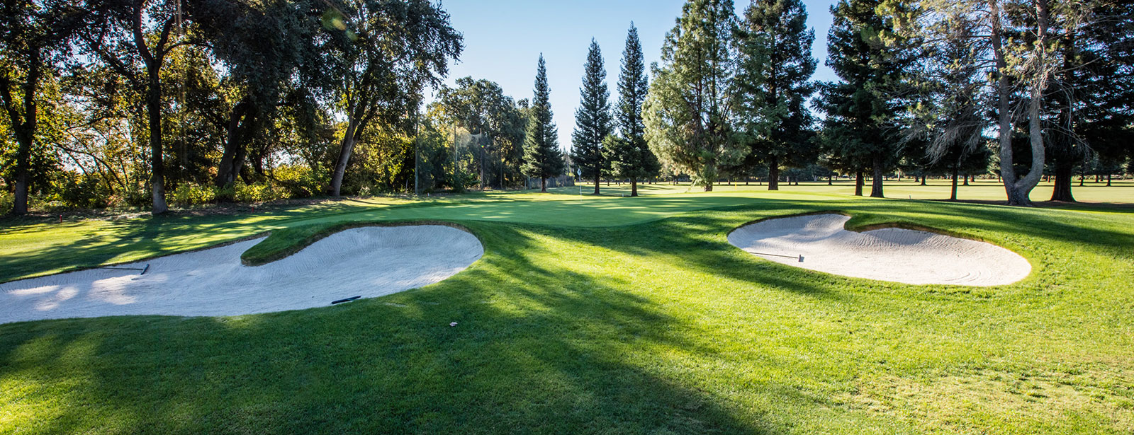 Overview of golf course named Butte Creek Country Club