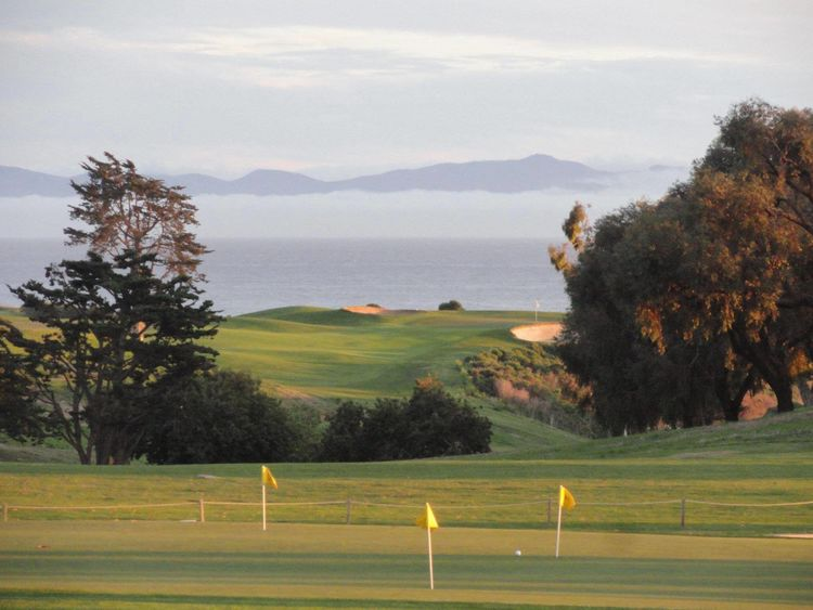 Sandpiper golf club cover picture
