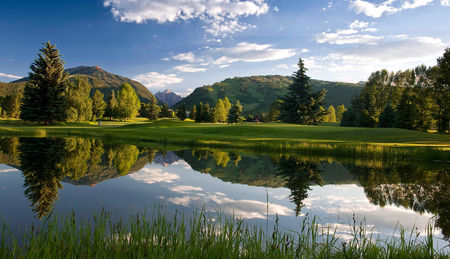 Overview of golf course named Aspen Golf Course