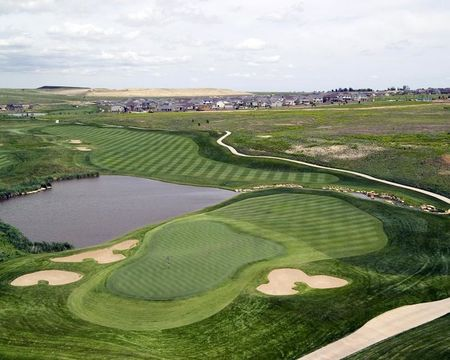 Overview of golf course named Colorado National Golf Club