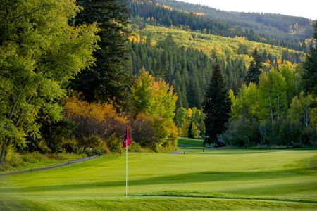 Overview of golf course named Eagle Vail Golf Club