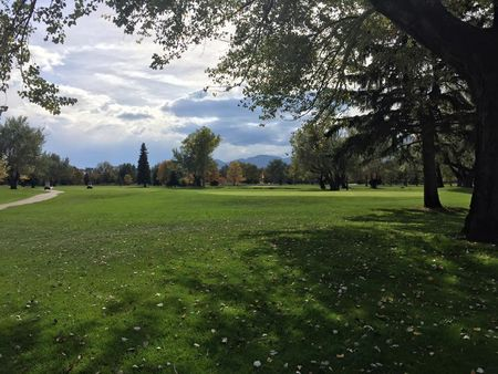 Flatirons golf course cover picture