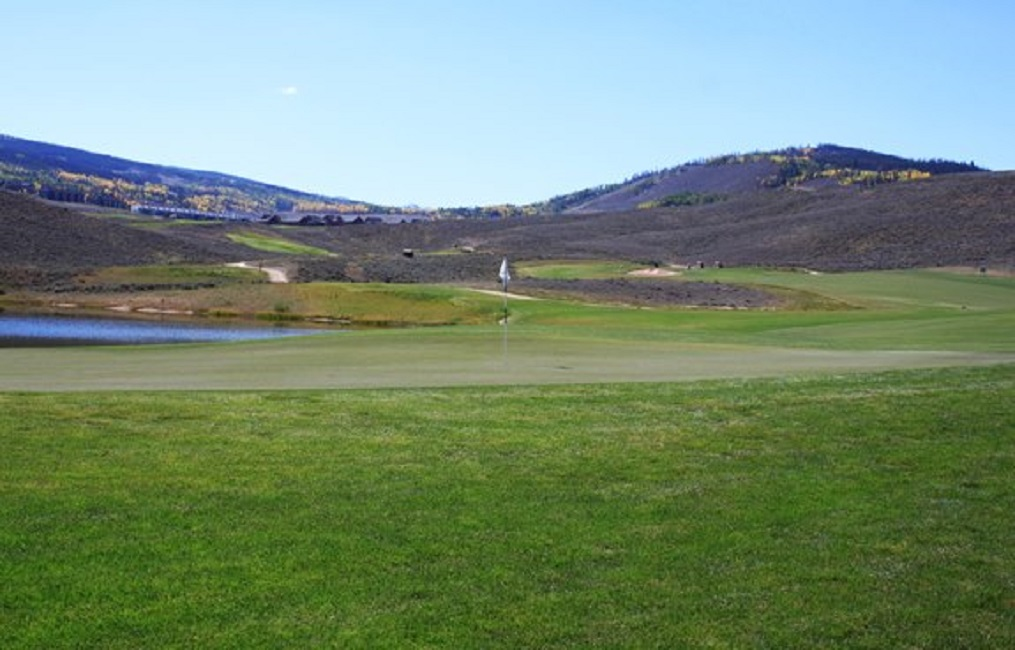 Overview of golf course named Golf Granby Ranch