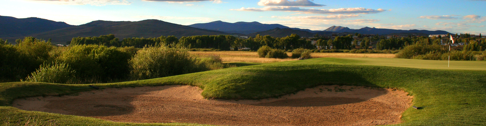 Overview of golf course named Grand Elk Golf Course