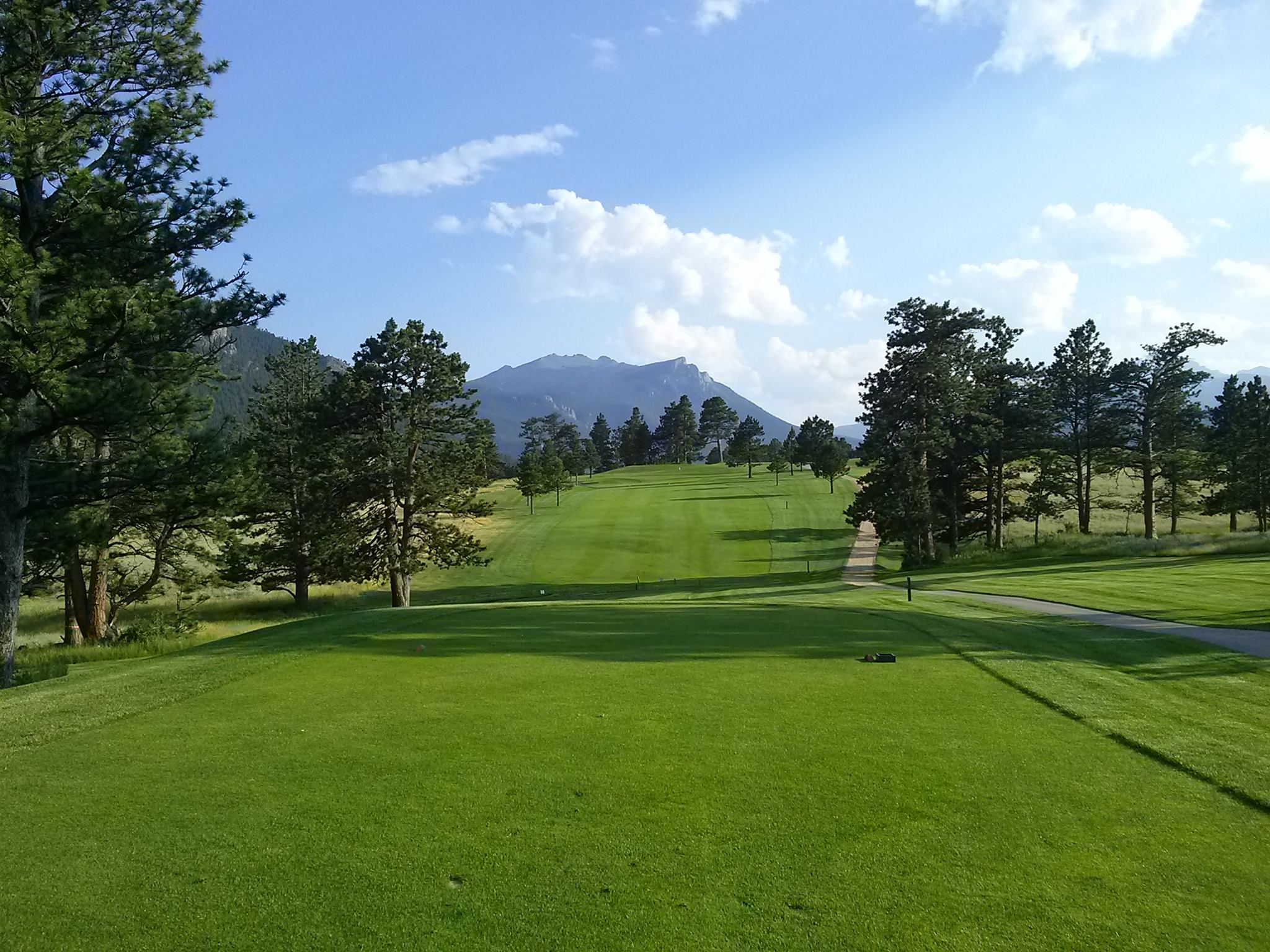 Overview of golf course named Lake Estes Executive 9 Hole Course