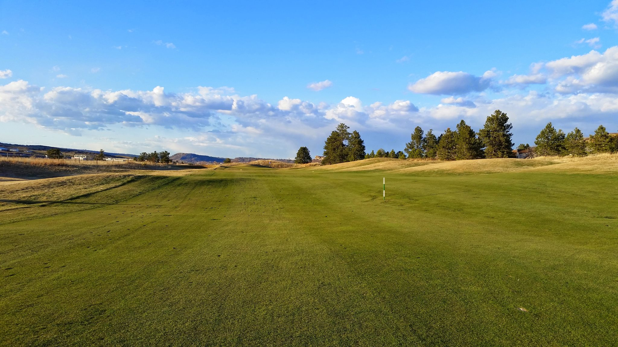 Overview of golf course named Plum Creek Golf and Country Club