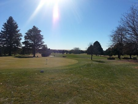 Silver spruce golf course cover picture