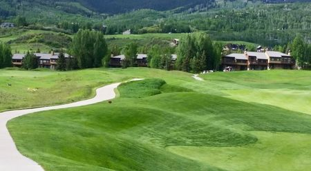 Snowmass club golf course the cover picture