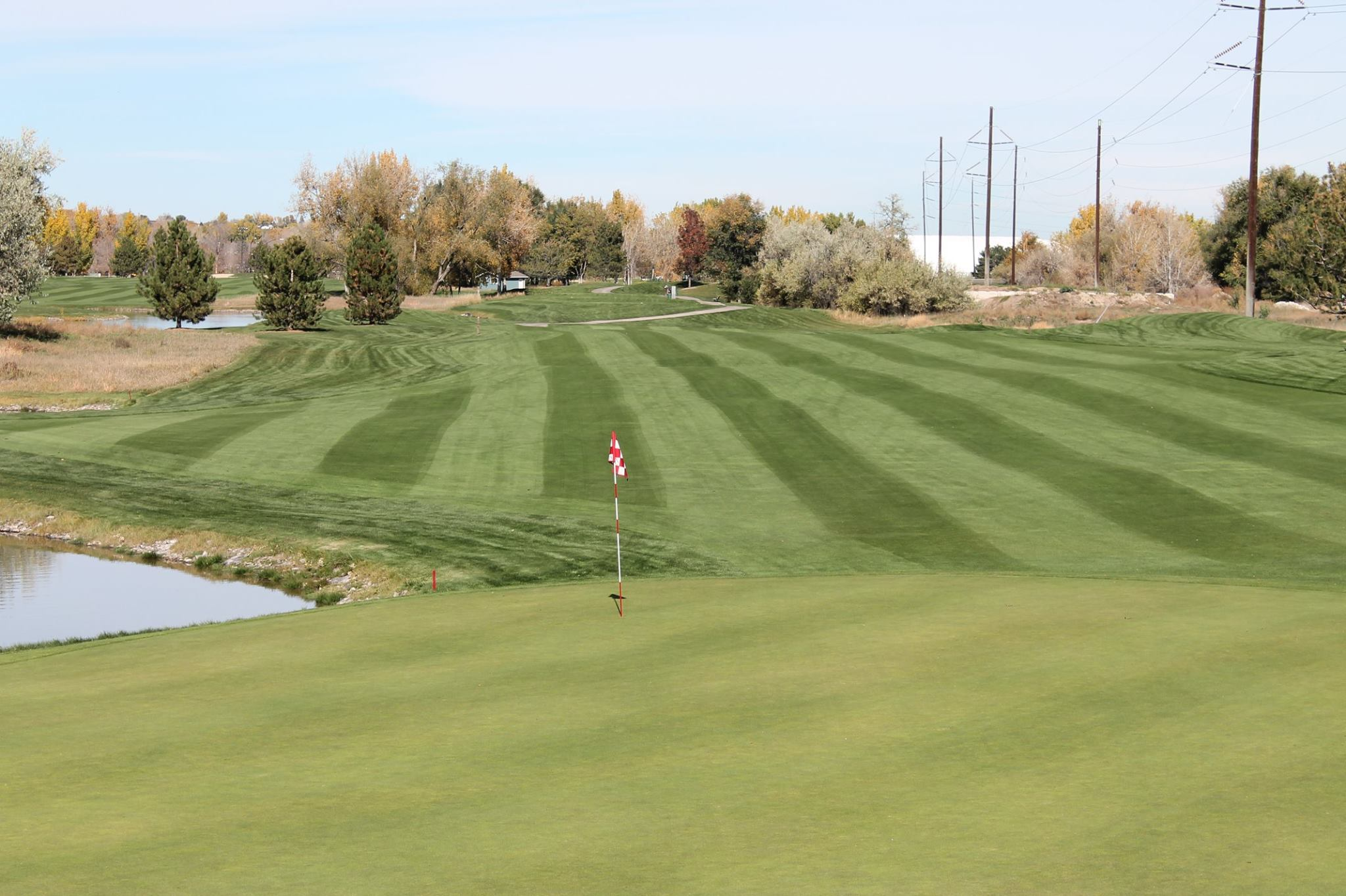 Overview of golf course named South Suburban Golf Course