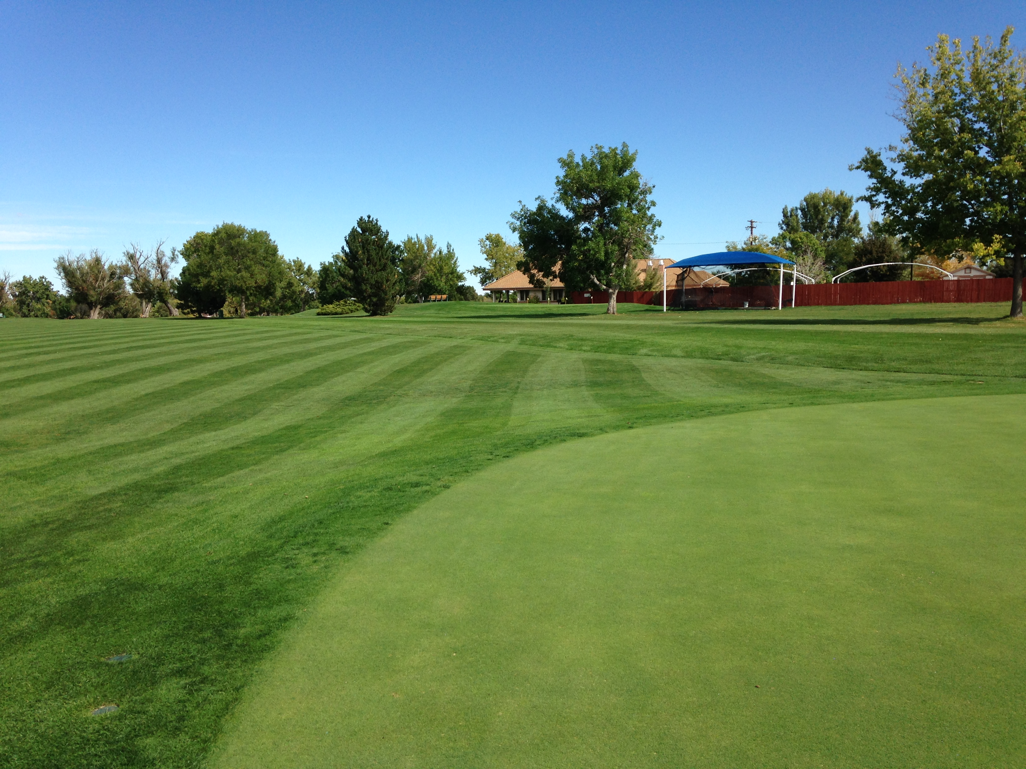Overview of golf course named Southglenn Country Club