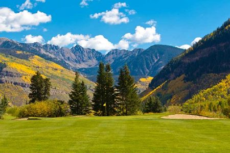 Overview of golf course named Vail Golf Club