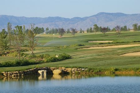 Overview of golf course named Falcon Crest Golf Club