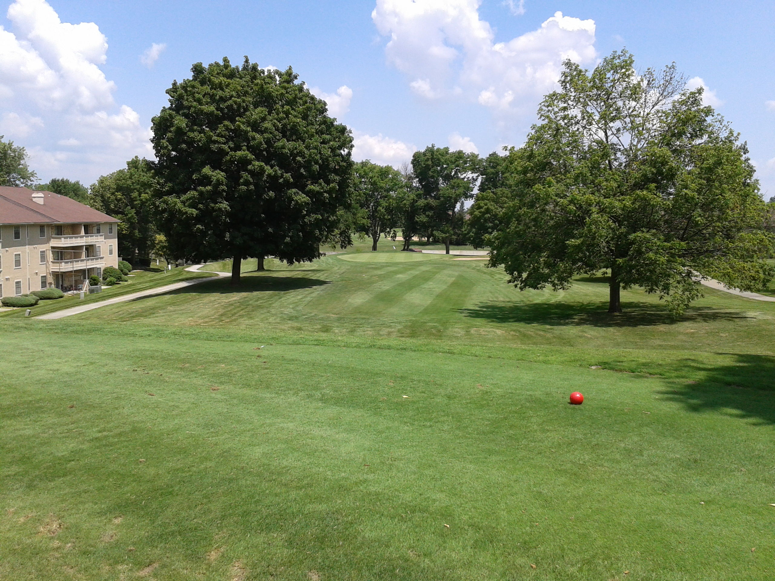 Canterbury green golf course cover picture