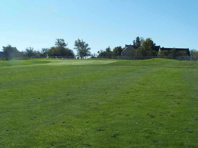 Overview of golf course named Hidden Hills Golf Course