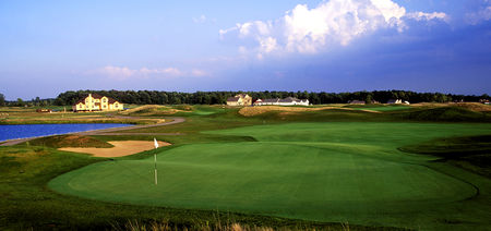 Overview of golf course named Noble Hawk Golf Links