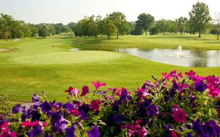 Overview of golf course named Orchard Ridge Country Club
