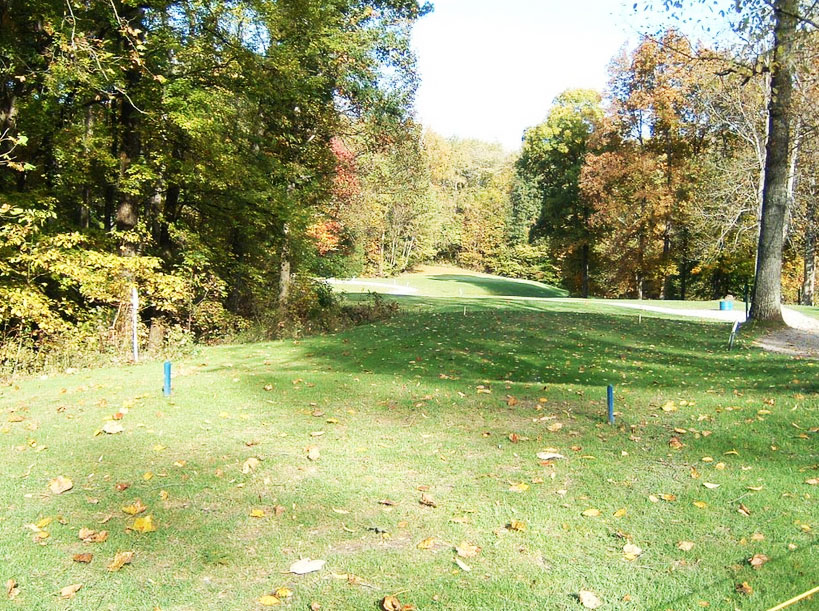 Overview of golf course named Pine Woods Golf Course