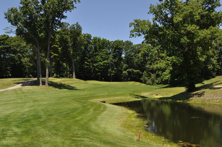 Overview of golf course named Pottawattomie Country Club
