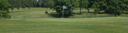 Overview of golf course named Turkey Run Golf Club