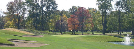 Overview of golf course named Twin Lakes Golf Club