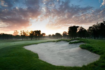University of Notre Dame Golf Course Cover Picture