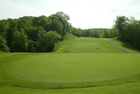 Overview of golf course named Capital Hills at Albany