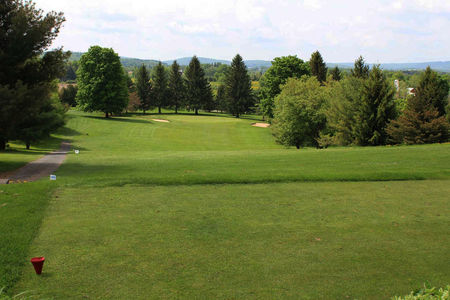 Overview of golf course named Cazenovia Country Club