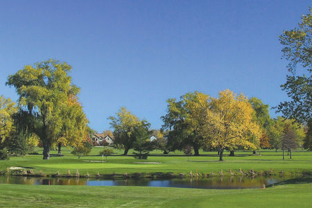 Overview of golf course named Lake Shore Yacht and Country Club