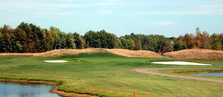 Overview of golf course named Northern Pines Golf Club