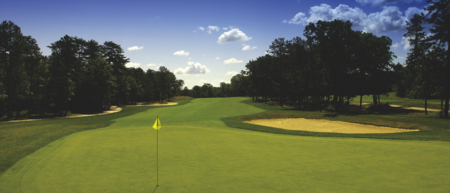 Overview of golf course named Pine Ridge Golf Club
