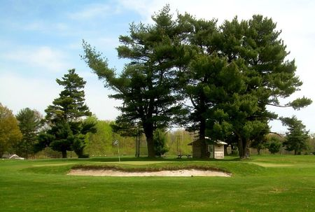 Overview of golf course named Seneca Golf Course and Driving Range