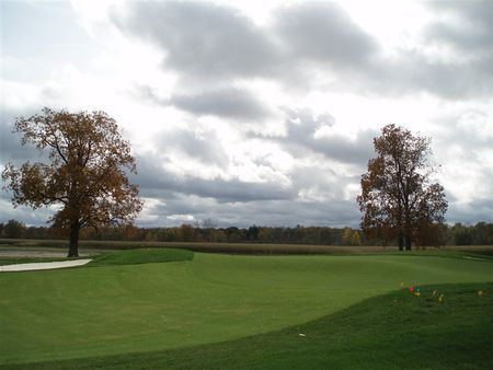 Overview of golf course named Timber Banks Golf Club and Marina