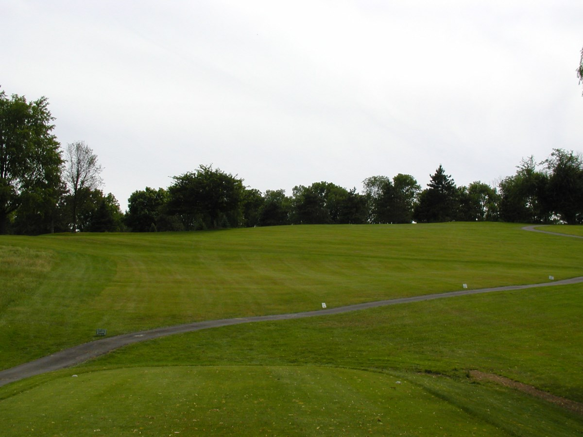 Overview of golf course named Tioga Country Club
