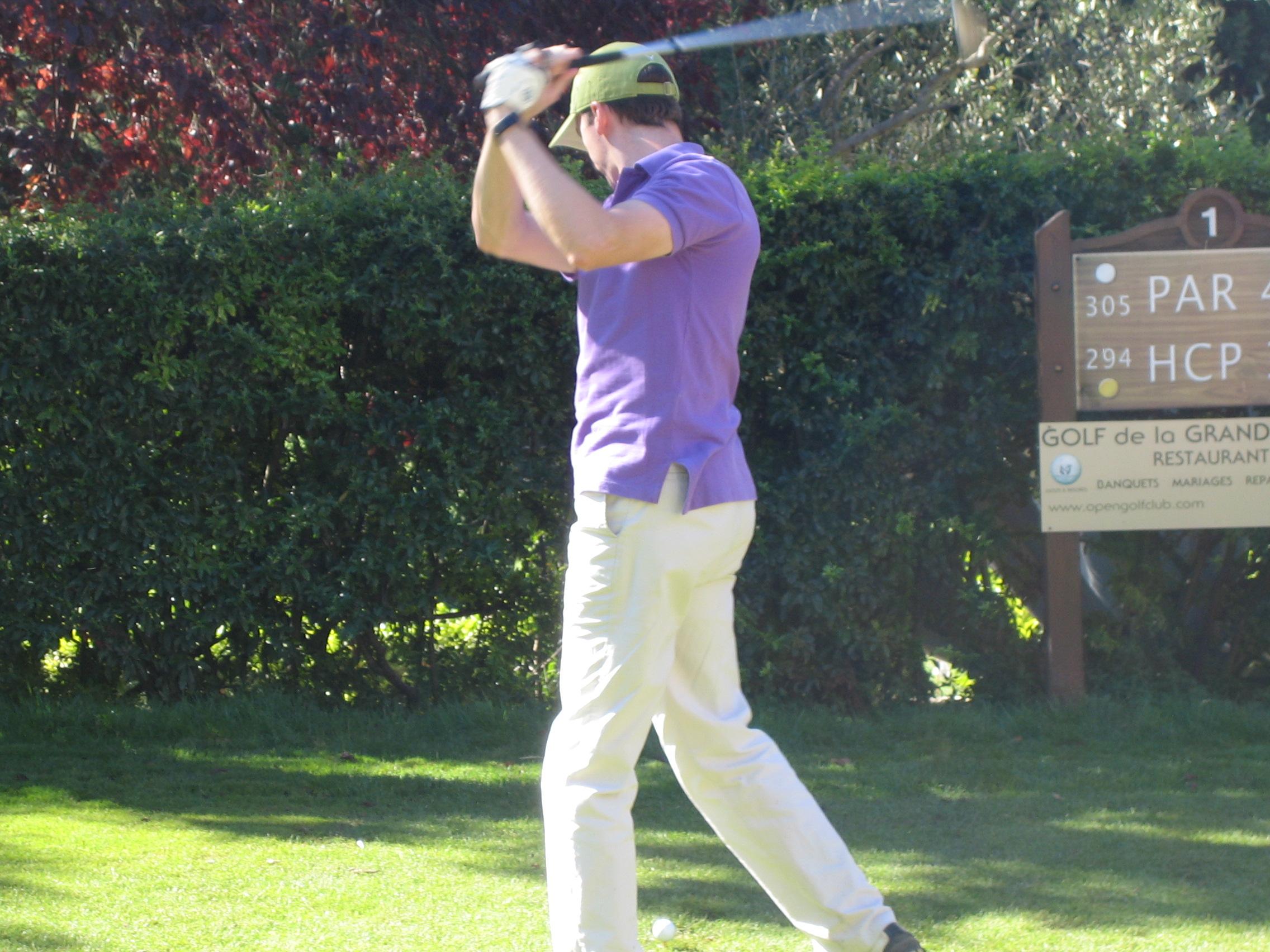 Avatar of golfer named Matthieu Bouquet