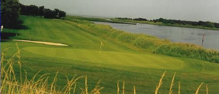 Indian island golf course cover picture