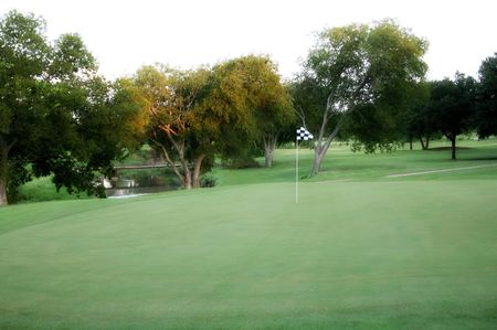 Overview of golf course named Duck Creek Golf Course