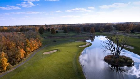 Overview of golf course named Eagle Creek Golf Club