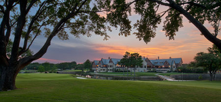 Overview of golf course named Dallas Country Club