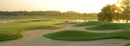 Overview of golf course named The Houstonian Golf and Country Club