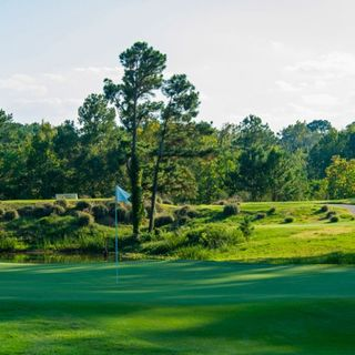 Whispering pines golf club cover picture