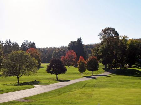 Overview of golf course named Cortland Country Club
