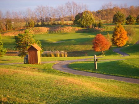 The crossings golf club cover picture