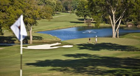 Overview of golf course named Hillwood Country Club