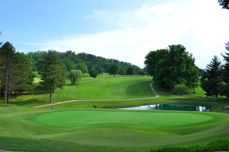 Elizabethton municipal golf course cover picture