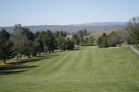 Blacksburg municipal golf course cover picture